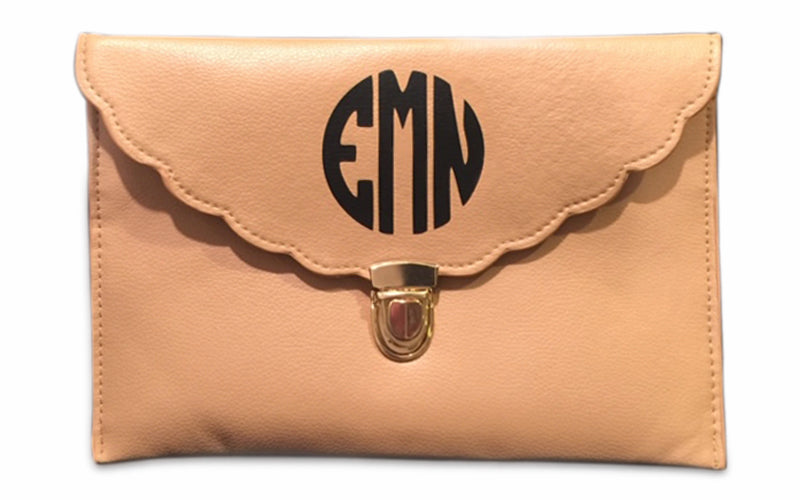 Julep Belle Designs monogram clutch makes a perfect gift