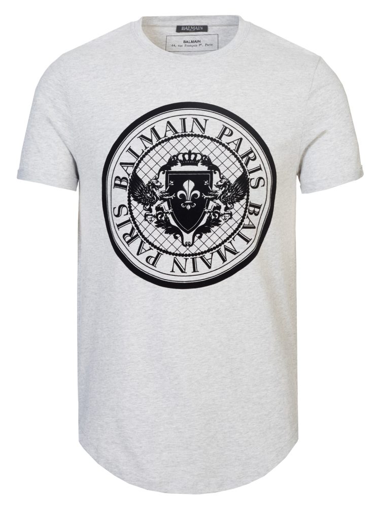 b78c1638 Balmain T-shirt grey – Elite Luxury Fashion Online