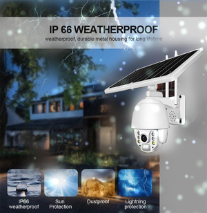 Outdoor solar powered wireless ip 3g/4g wifi cctv security surveillance camera