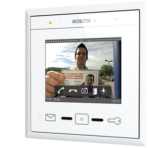 Mobotix Display+3 Indoor and Outdoor Remote Station with Touch Screen