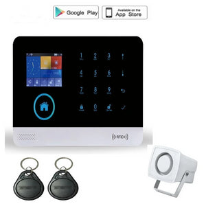 Starter Kit Security wireless wifi gsm alarm system TFT display.