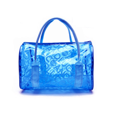 Le Sac de Plage<br> Tendance Transparent Big