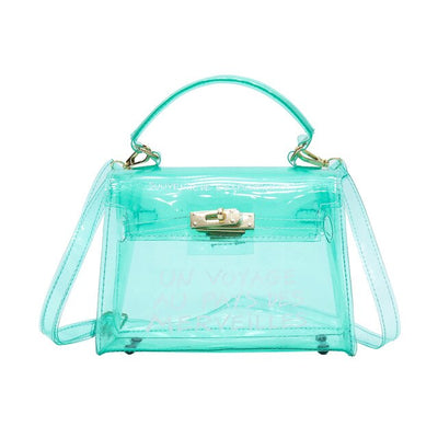 Le Sac de Plage<br> Tendance Transparent Message