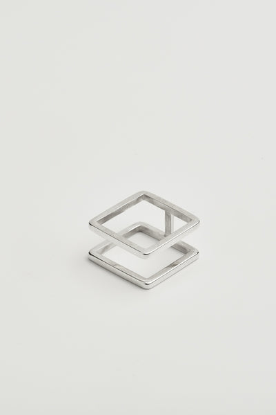 DOUBLE SQUARE RING 81