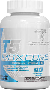 T5 Maxcore® Core Fat Burners 90 Vegetarian Capsules