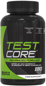 Testcore Testosterone Boosters for Men 180 Vegetarian Capsules