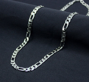 Silver Plated Figaro Chain