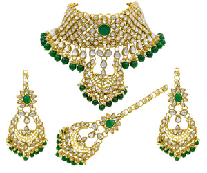 Kundan Chocker Necklace Set