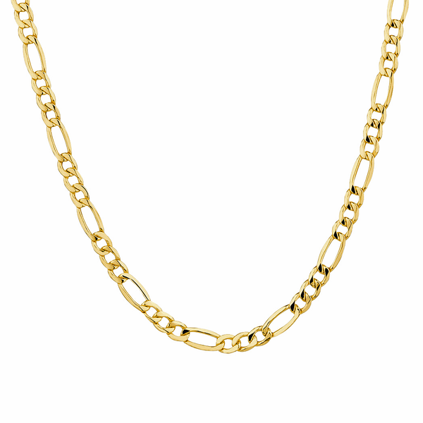 18k Gold Plated Figaro Chain