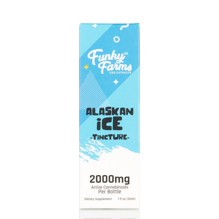 Alaskan Ice MCT Oil by Funky Farms Tincture - 2000mg/30ml