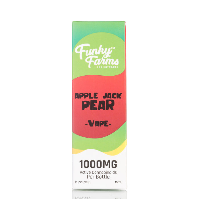 Apple Jack Pear by Funky Farms Vape Juice - 1000mg/15ml