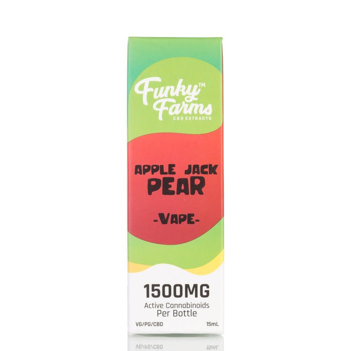 Apple Jack Pear by Funky Farms Vape Juice - 1500mg/15ml
