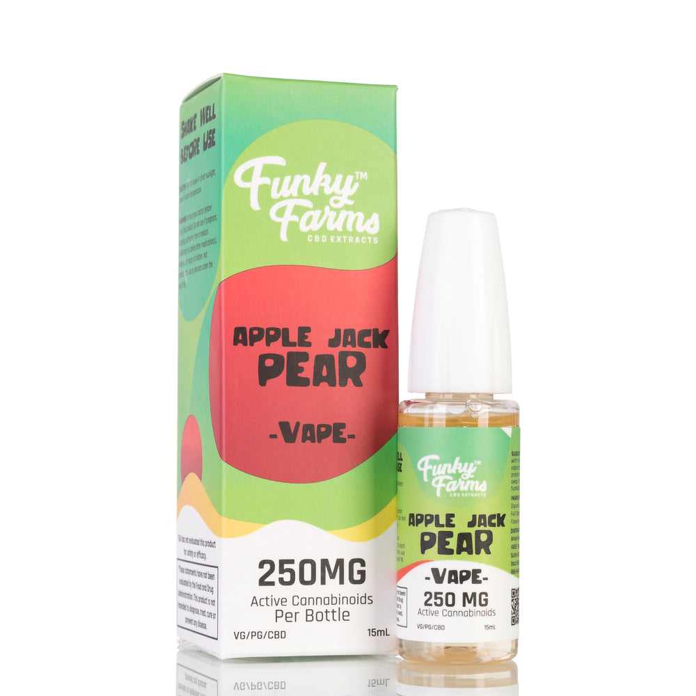 Apple Jack Pear by Funky Farms Vape Juice - 250mg/15ml