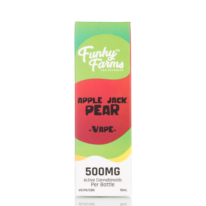 Apple Jack Pear by Funky Farms Vape Juice - 500mg/15ml
