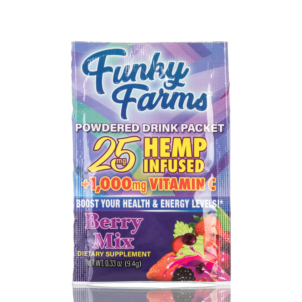 Berry Mix Powdered Drink Packet by Funky Farms - 25mg/1ct