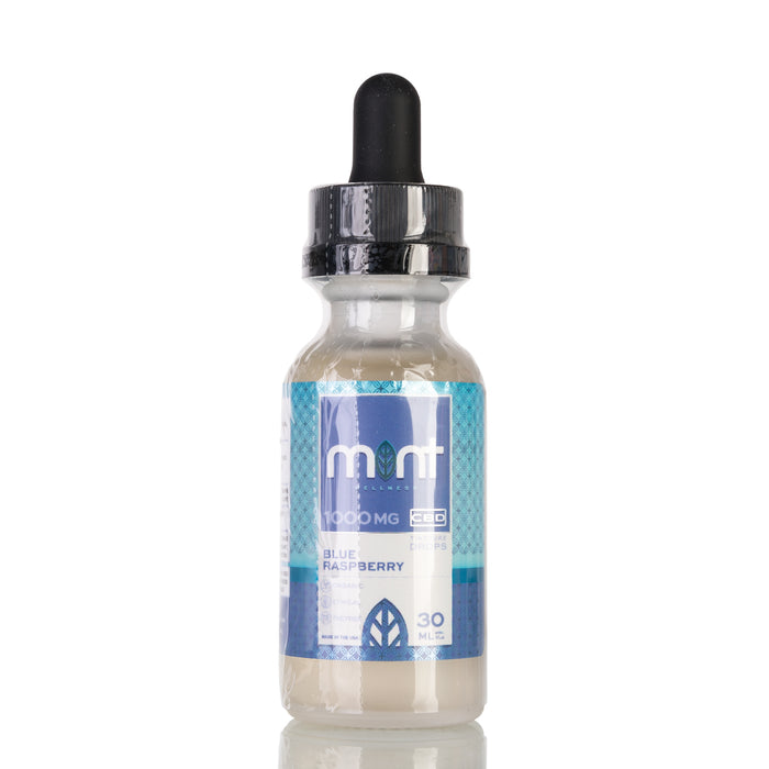 Blue Raspberry by Mint Wellness Tincture - 1000mg/30ml