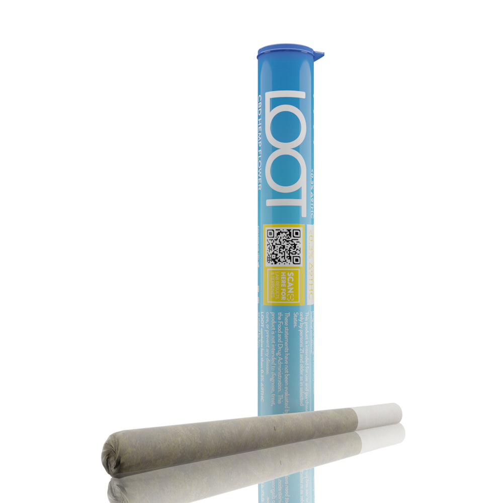 Blue Cheer Prerolled CBD Hemp Flower by Loot CBD - 1g