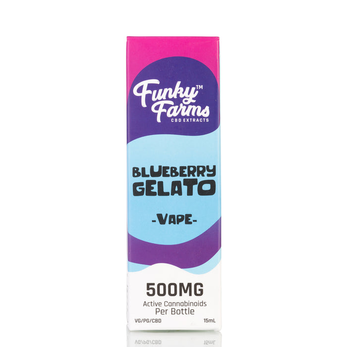 Blueberry Gelato by Funky Farms Vape Juice - 500mg/15ml