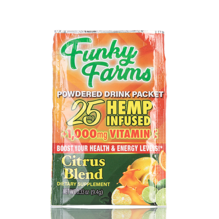 Citrus Blend Powdered Drink Packet by Funky Farms - 25mg/1ct