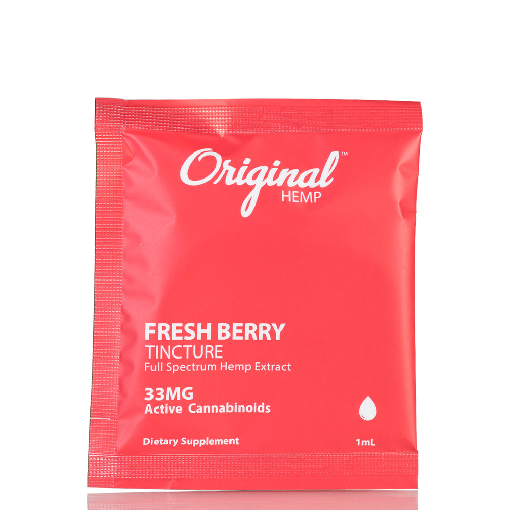 Fresh Berry Daily Dose by Original Hemp Tincture - 33mg/1ml