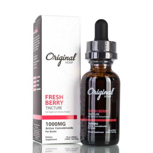 Fresh Berry Full Spectrum by Original Hemp Tincture - 1000mg/30ml