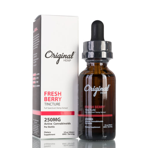 Fresh Berry Full Spectrum by Original Hemp Tincture - 250mg/30ml
