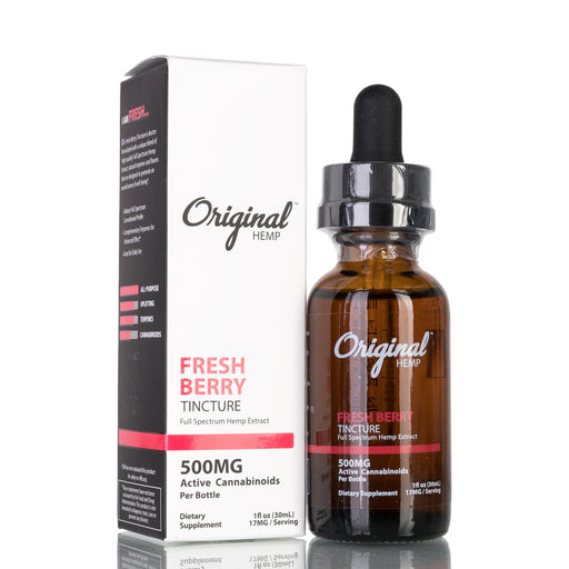 Fresh Berry Full Spectrum by Original Hemp Tincture - 500mg/30ml