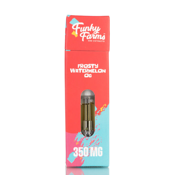 Frosty Watermelon OG Prefilled Cartridge by Funky Farms CBD Oil - 350mg/1ml