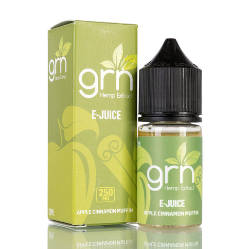 Apple Cinnamon Muffin by GRN CBD Vape Juice - 250mg/30ml