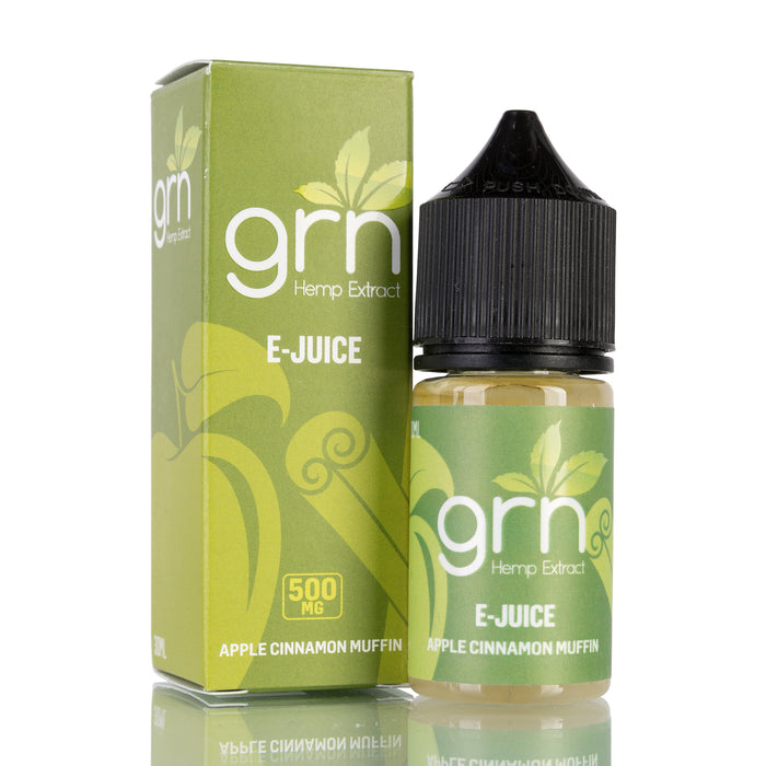 Apple Cinnamon Muffin by GRN CBD Vape Juice - 500mg/30ml