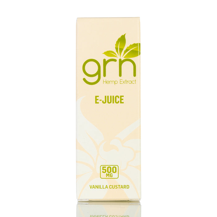 Vanilla Custard by GRN CBD Vape Juice - 500mg/30ml