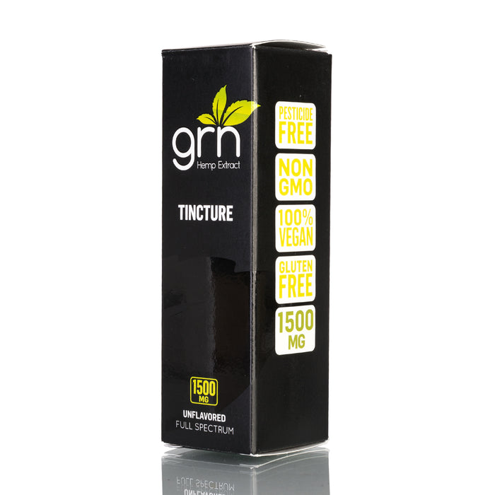 Unflavored by GRN CBD Tincture - 1500mg/30ml