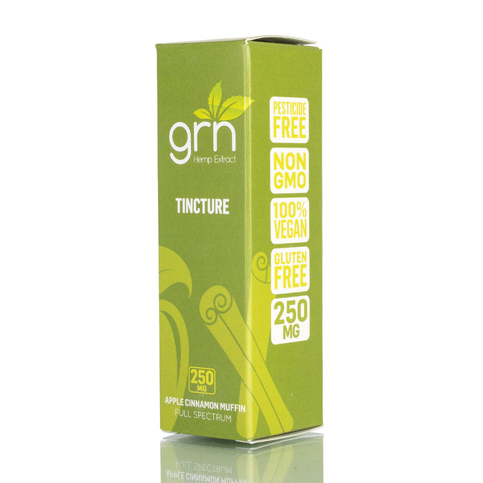 Apple Cinnamon Muffin by GRN CBD Tincture - 250mg/30ml