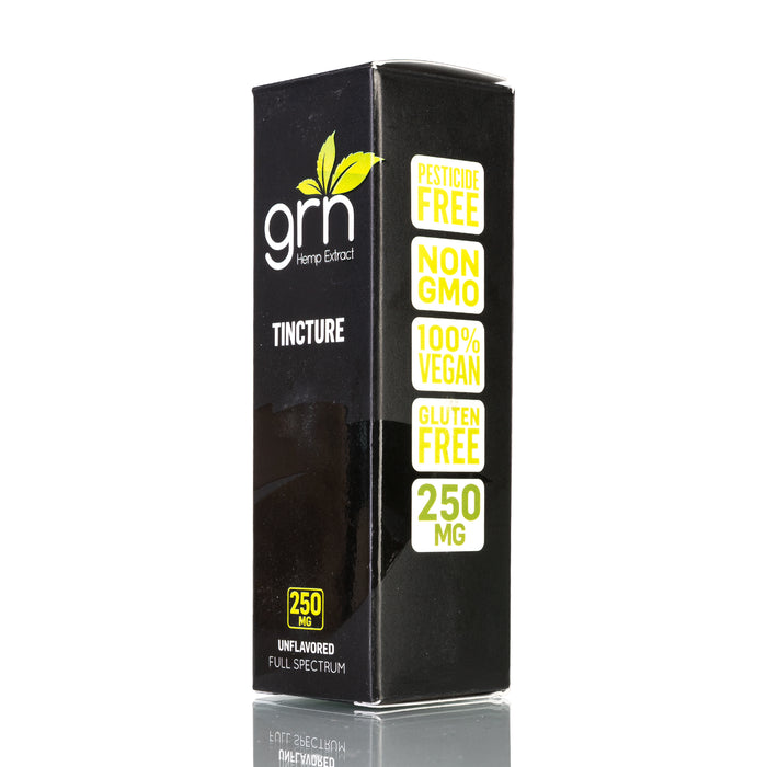 Unflavored by GRN CBD Tincture - 250mg/30ml