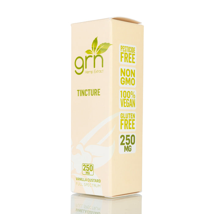 Vanilla Custard by GRN CBD Tincture - 250mg/30ml