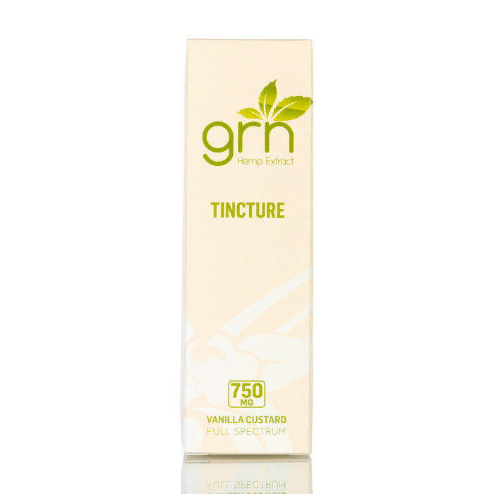 Vanilla Custard by GRN CBD Tincture - 750mg/30ml