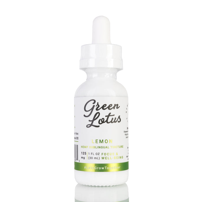 Lemon by Green Lotus Tincture - 125mg/30ml