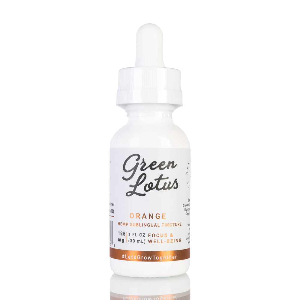 Orange by Green Lotus Tincture - 125mg/30ml