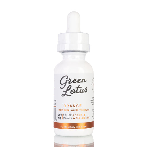 Orange by Green Lotus Tincture - 250mg/30ml