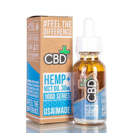 Hemp MCT Oil by CBDfx Tincture - 1000mg/30ml