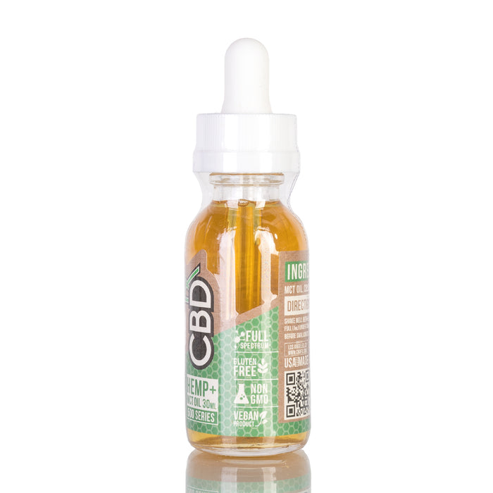 Hemp MCT Oil by CBDfx Tincture - 500mg/30ml
