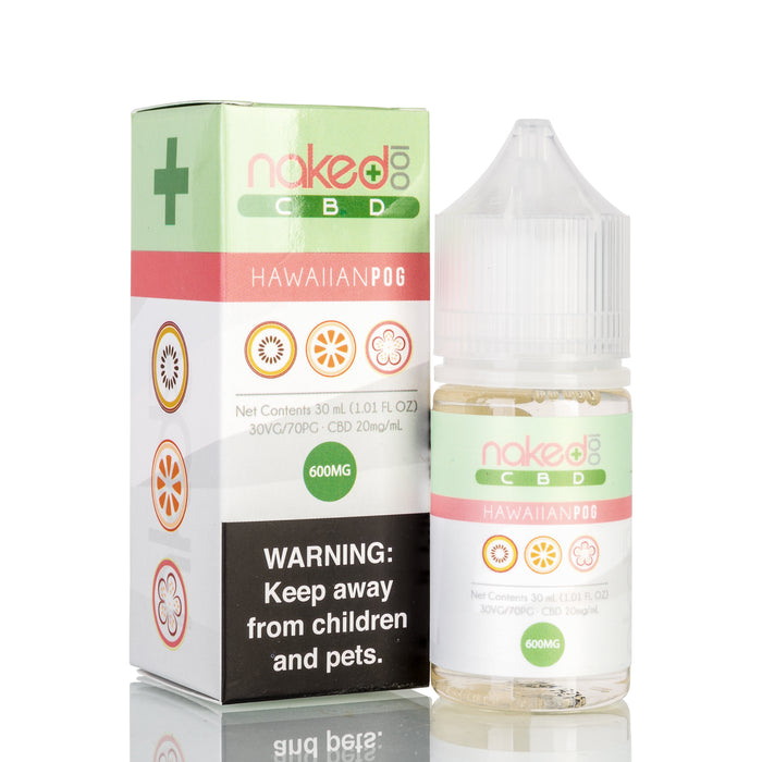 Hawaiian POG by Naked 100 CBD Vape Juice - 600mg/30ml