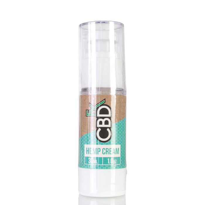 Hemp Cream by CBDfx Topical - 100mg/1oz