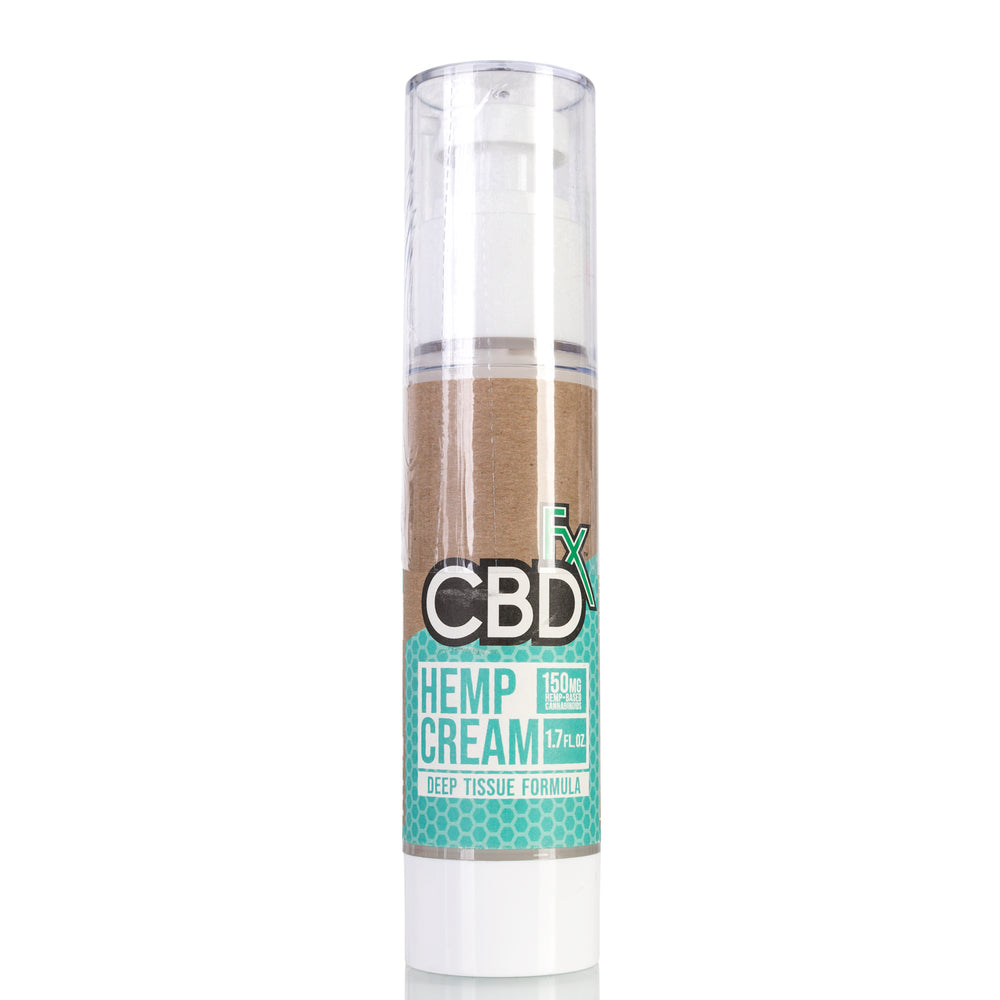 Hemp Cream by CBDfx Topical - 150mg/1.7oz