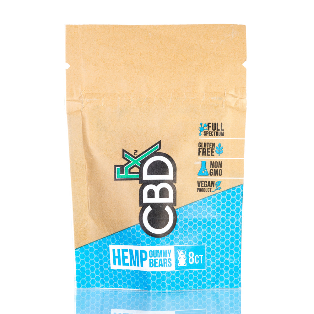 Berry Hemp Gummy Bears by CBDfx Gummies - 40mg/8ct