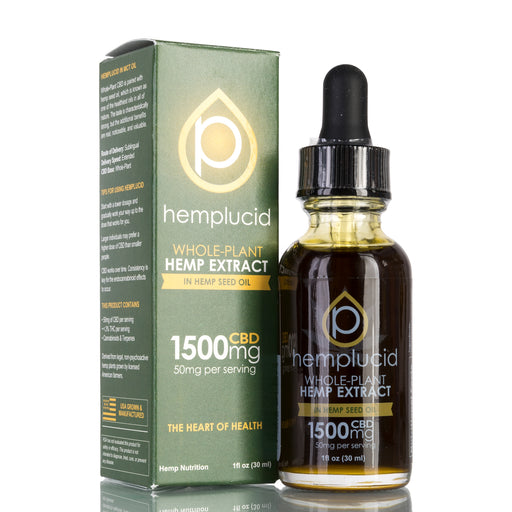 Hemp Seed Oil by Hemplucid Tincture - 1500mg/30ml