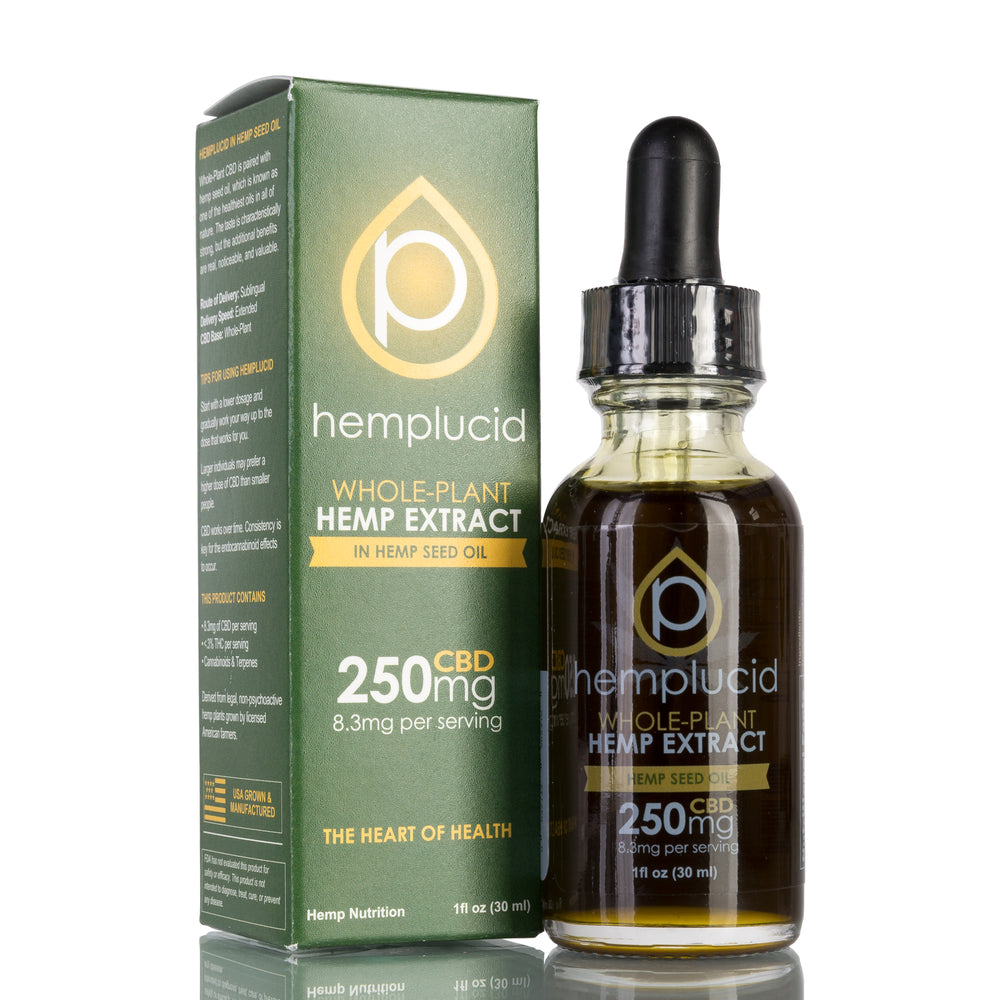 Hemp Seed Oil by Hemplucid Tincture - 250mg/30ml