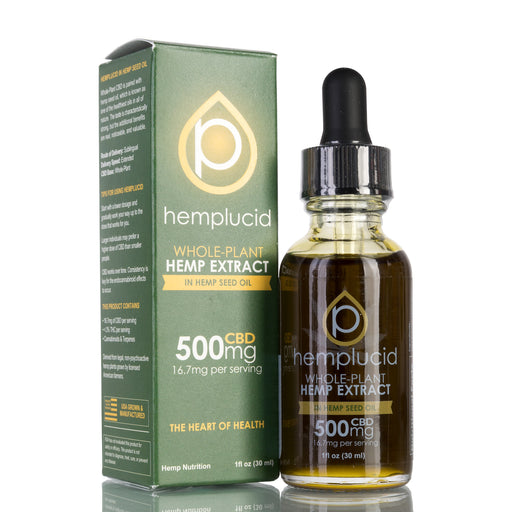 Hemp Seed Oil by Hemplucid Tincture - 500mg/30ml