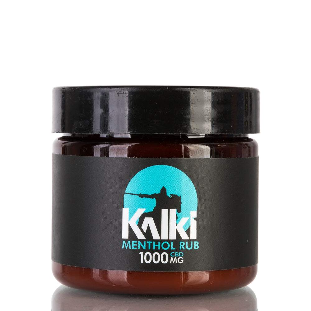 ISOTERP Menthol Muscle Rub by Kalki CBD Lotion - 1000mg/2oz