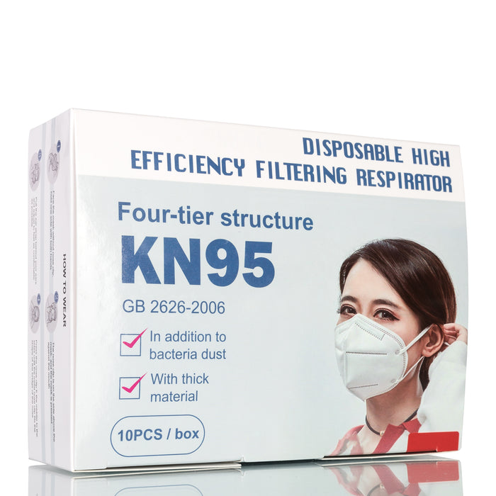 Disposable Face Masks KN95 - 10/Pack